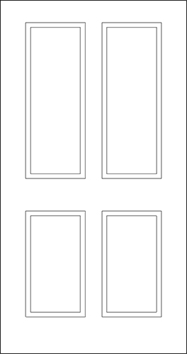 Abs American Building Supply Inc Panel Doors 6 8